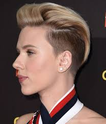 i need a new butch hairstyle scarlett johansson gets an undercut proves us wrong about