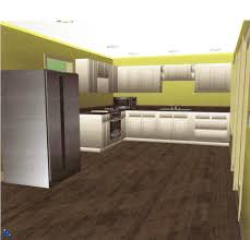 Design My Kitchen Online For Free Wooden Laminating Flooring Also Green Wall Paint Decorating Also
