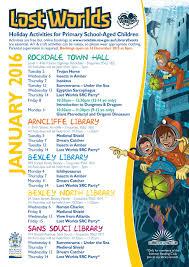 rockdale library news summer holiday activities start