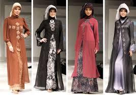 desain baju batik untuk acara resmi 7 contoh model baju batik muslim modern terbaik saat ini satu jam