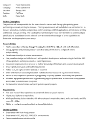 production operator resume sample resume for your job application
