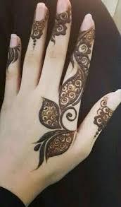 palm henna heena mehandi arabic design pinterest hennas