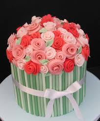 birthday flower cake cake flower birthday birthday cake made of flowers inspiring