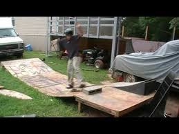 Backyard Skateboard Ramps Don U0027s Mini Animal Chin Ghetto Skateboard Ramp Youtube