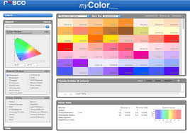 Pristine Your Infographics With Color Selection Color Schemes To Decoding The Language Of Color The History Of Rosco U0027s Numbering