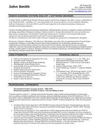 Objective In Resume For Experienced Software Engineer Free by Skill Resume Software Engineer Resume Samples Free Junior