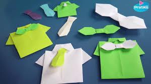 Pliage Serviette Noeud Origami Comment Faire Une Chemise En Papier Youtube
