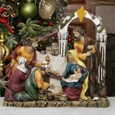 Lighted Nativity Scene Outdoor Outdoor Nativity Sets You U0027ll Love