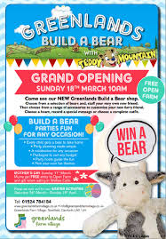 build your own teddy greenlands build your own with teddy mounatin greenlands