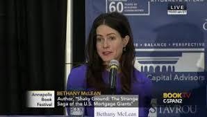 Bethany Mclean Vanity Fair Bethany Mclean C Span Org