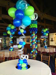 balloons for men image result for balloon topiary centerpieces for men