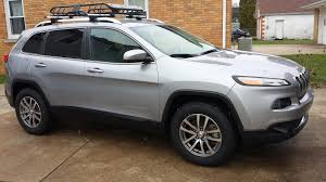 gold jeep cherokee larger tire size on ad1 2014 jeep cherokee forums
