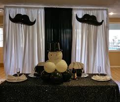 Mustache Home Decor Party People Event Decorating Company Bow Tie And Mustache Baby