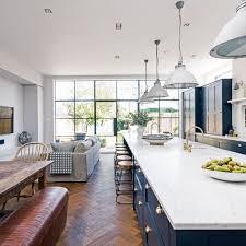 blue kitchen ideas navy kitchen ideas diners pendant lighting and kitchens