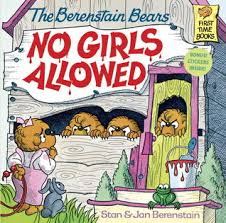 berenstien bears the berenstain bears no allowed by stan berenstain