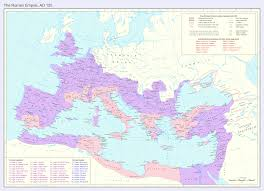 Liguria Italy Map by The Roman Empire At Its Height Under Emperor Trajan 2534 Map Of