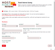 free travel agent forms templates for travel agencies