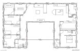 plan de maison en v plain pied 4 chambres plan maison 4 chambres plain pied gratuit 9 plan maison en v