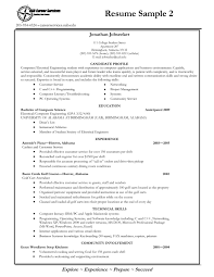 Resume Examples For Engineering Students Computer Science Resume Template Internship Experience In Sample