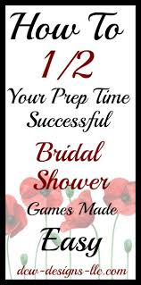easy bridal shower top 5 and easy bridal shower i dcw designs llc