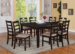 Modern Black Dining Room Sets by Round Dining Room Tables For 8 Home Design Ideas And Pictures