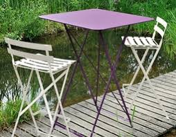 bistro balcony folding table cafe culture insitu