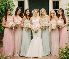 bridesmaid dress colors pictures on how to bridesmaids dresses bridal catalog