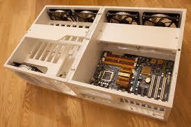 ikea expedit compatible nas server wood case scratch build h