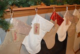minky velvet u0026 burlap christmas stockings with sequin cuffs and