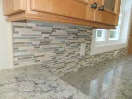 kitchen lovely kitchen glass and stone backsplash modern style