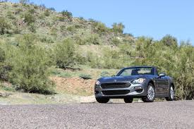 sit back and enjoy the drive 2017 fiat 124 spider classica