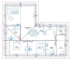 plan maison 100m2 3 chambres plan maison plein pied 120m2 idées décoration intérieure