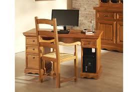 bureau informatique en bois bureau informatique rustique en chêne massif hellin