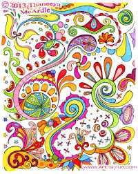 valuable ideas abstract coloring pages adults artists