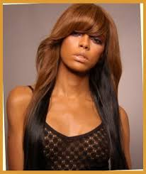 full sew in hairstyles gallery long sew in hairstyles with bangs for black women with thick hair