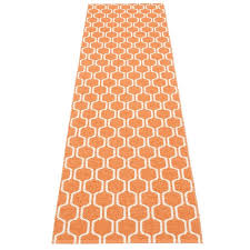 pappelina ants runner rug pale orange rugs and runners soft