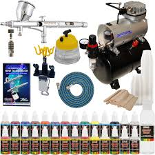 complete professional airbrush system kit w g44 master airbrush