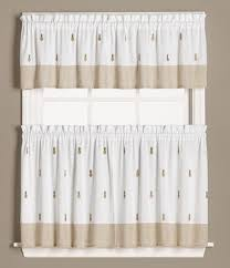 Ladybug Kitchen Curtains by Welcome Pineapples Kitchen Curtain Linens4less Com