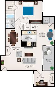 1 bedroom apartment floor plans one bedroom apartments in burtonsville md