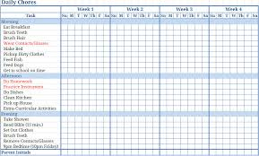 Chore Sheet Template 28 Child Chore List Template Gallery For Gt Chores List For