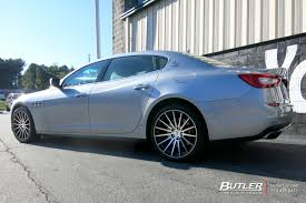 blue maserati quattroporte maserati quattroporte with 20in tsw chicane wheels exclusively