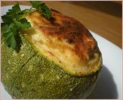 cuisiner des courgettes au four courgettes farcies aux quatre fromages au four et à mesure