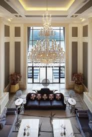 Decorating Ideas For High Ceiling Living Rooms Marvelous High Ceiling Living Room Ceilingng Color Ideas Window