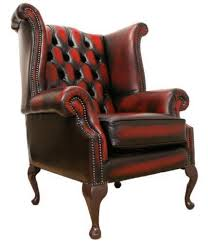 Leather Chesterfield Style Sofa Chesterfield Chair Ebay