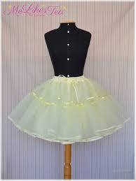 how to make a petticoat melikestea en diy a simple petticoat