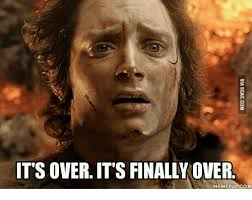 Overeating Meme - 25 best memes about it is done frodo it is done frodo memes