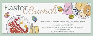 easter brunch invitations easter free online invitations