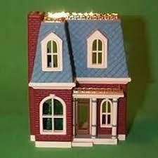 1984 hallmark ornament nostalgic house 1 dollhouse