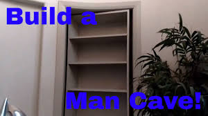 Diy Hidden Bookcase Door How To Build A Secret Man Cave Door Murphy Door Diy Finish