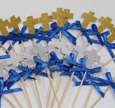 christening decorations customize boys christening decorations baptism cross cupcake